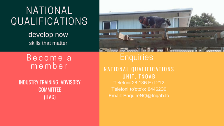 Tonga National Qualifications